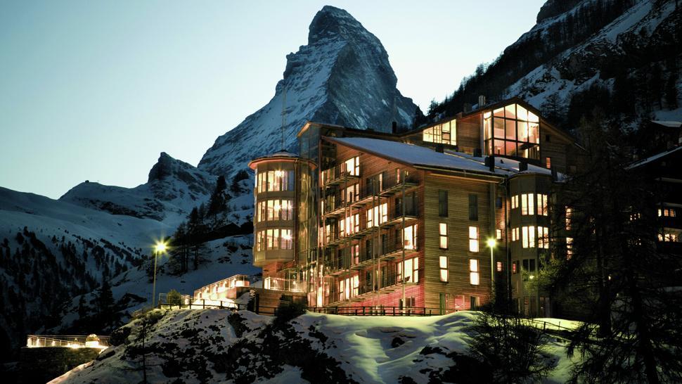 The omnia valais switzerland for Hotel design valais