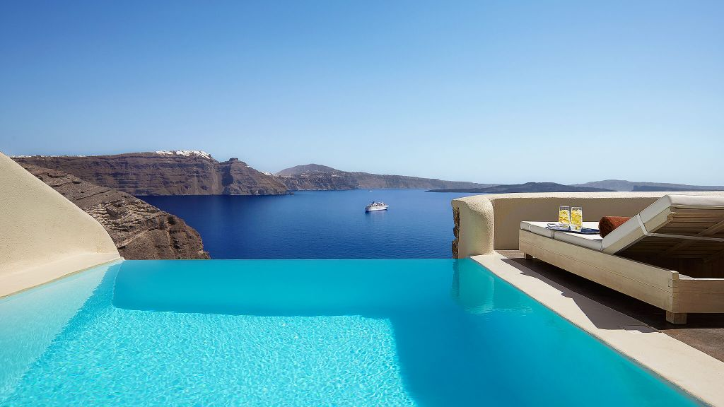 Mystique A Luxury Collection Hotel Santorini Aegean Islands