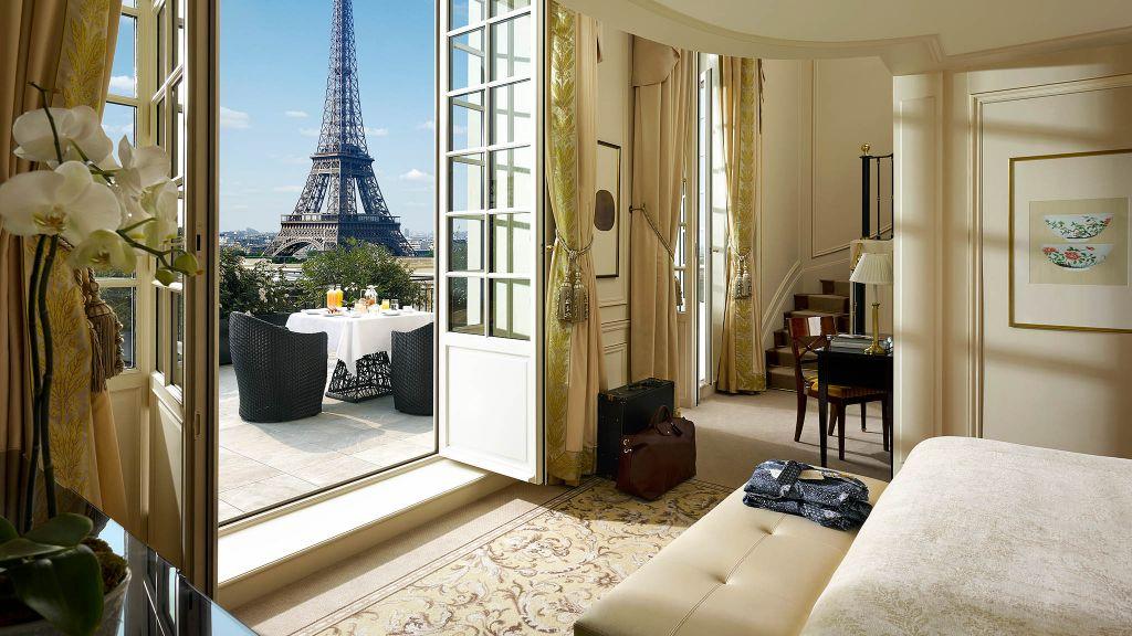Shangri La Hotel Paris Paris Ile De France