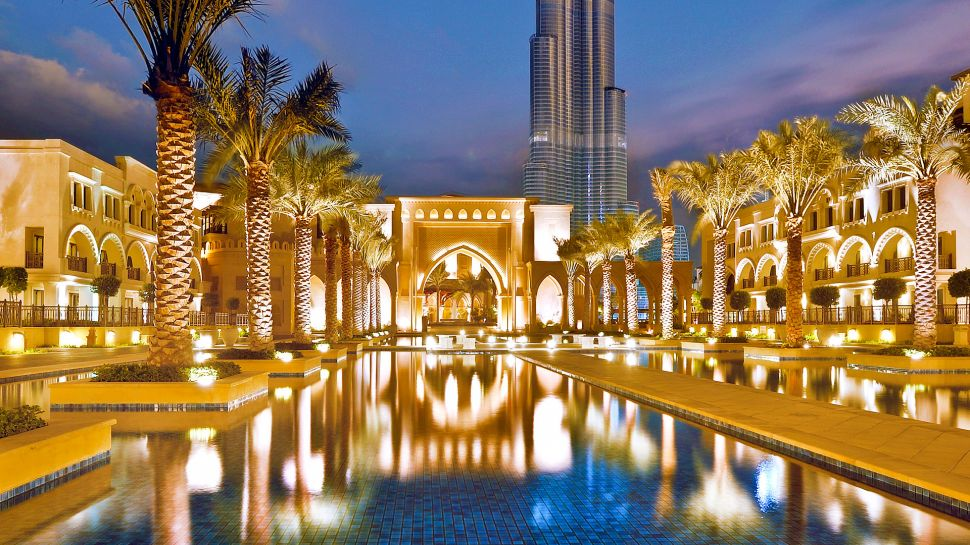 The palace downtown dubai dubai united arab emirates for Nearest hotel to dubai design district