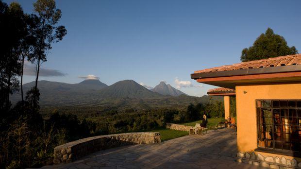 Sabyinyo Silverback Lodge — Parc National des Volcans, Rwanda