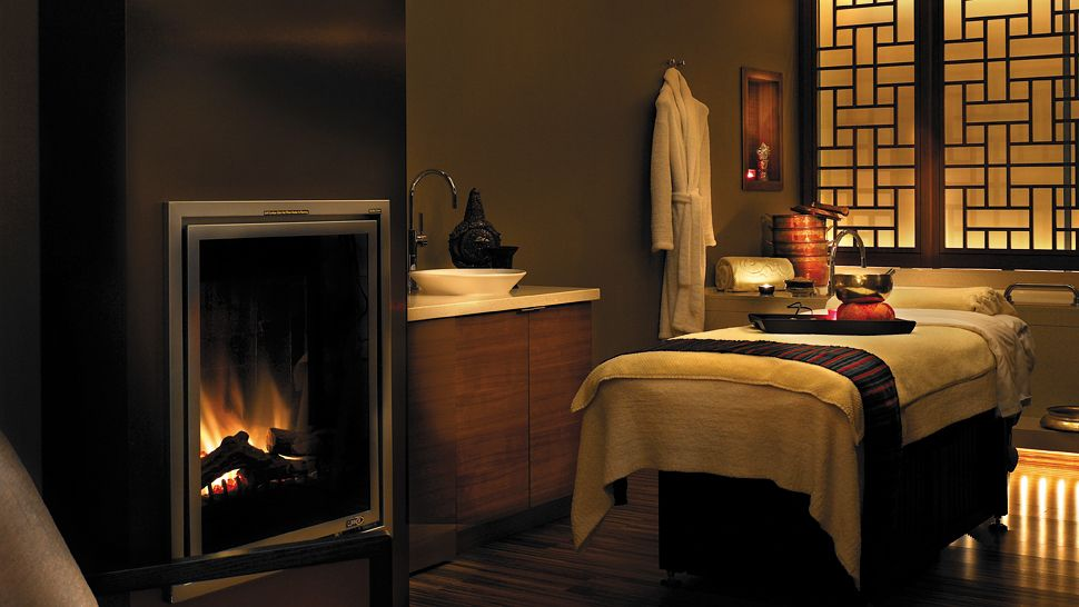 Shangri la vancouver british columbia canada for Spa treatment room interior design
