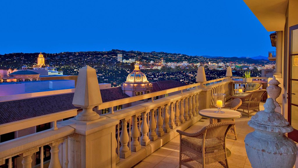 Montage beverly hills greater los angeles kaliforniya for Visa hotel luxury collection
