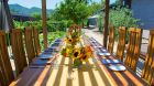 See more information about Bardessono outdoor dining in the garden