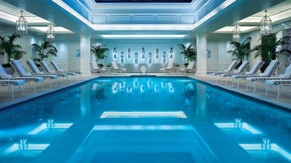 Four seasons hotel westlake village greater los angeles - Indoor swimming pool in los angeles ...