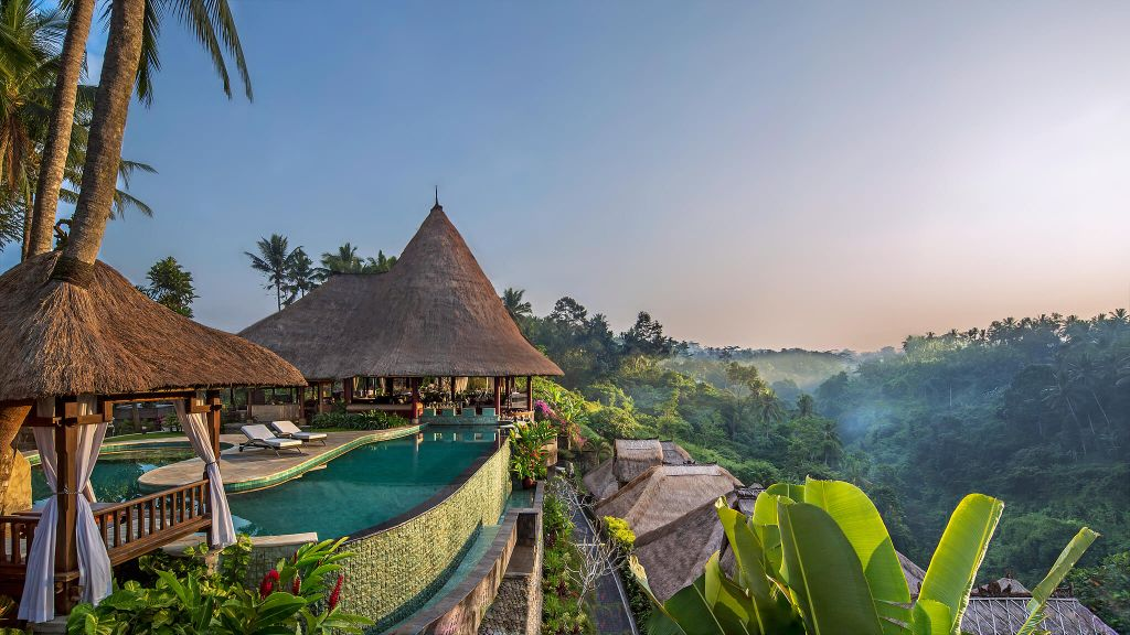 honeymoon destination Bali luxury design