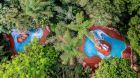 Aerial  Villa del  Parco.