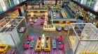 Interior, lounge