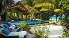 beach villa private beach pool sea view