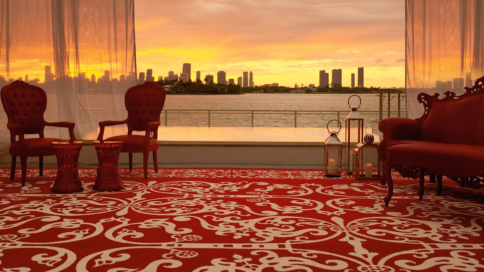 هتل ماندرین در سواحل جنوبی میامی