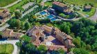 resort overview at Castel Monastero
