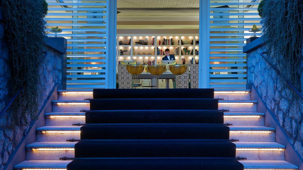 capri tiberio palace campania italy. Black Bedroom Furniture Sets. Home Design Ideas