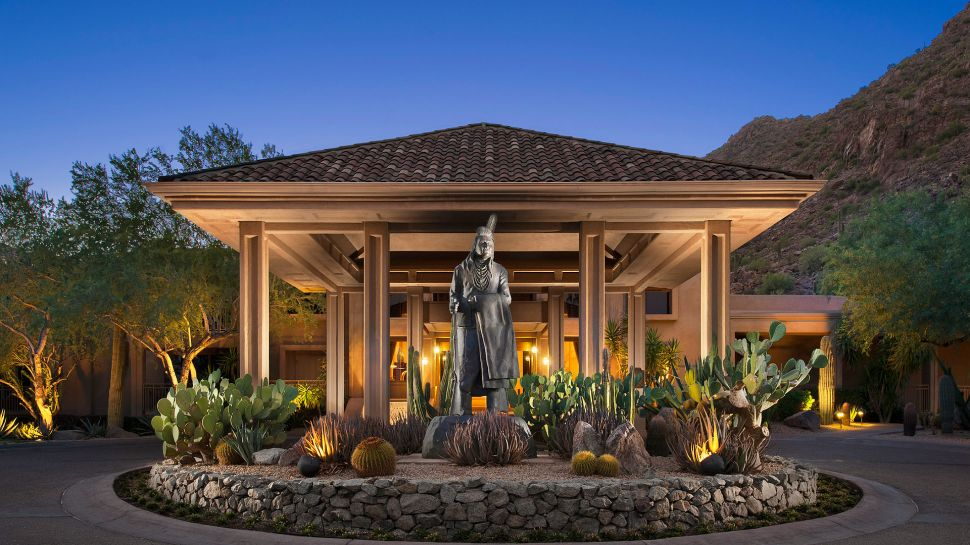 the canyon suites at the phoenician phoenix arizona