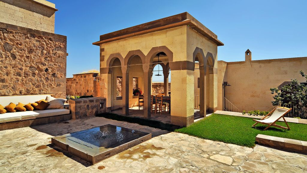 argos in Cappodocia Turkey luxury hotel