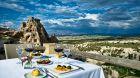 Seki  Restaurant  Terrace  Argos in  Cappadocia.