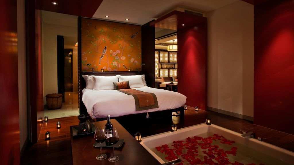 Banyan tree hangzhou zhejiang province china Romantic modern master bedroom ideas