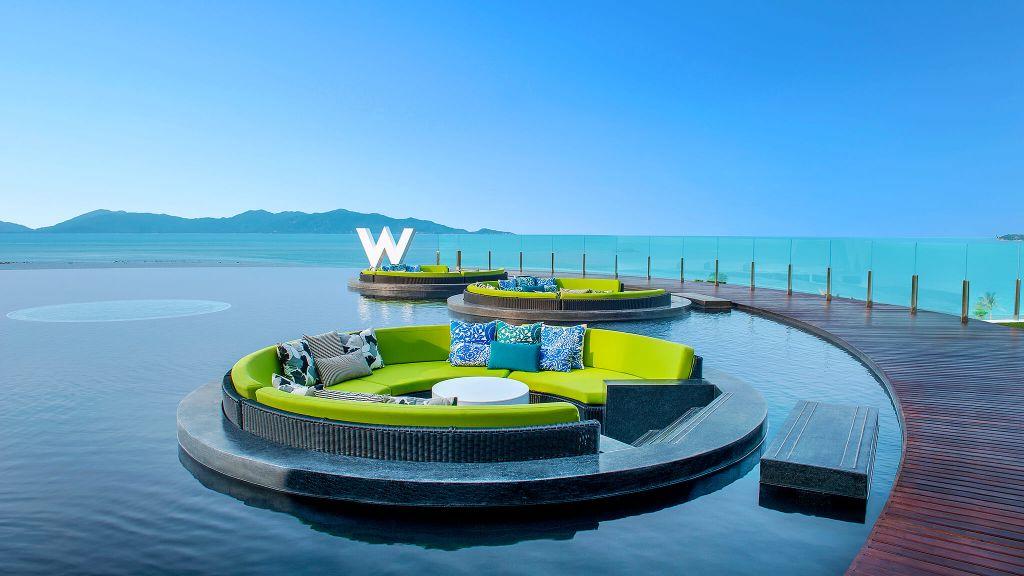W Hotel Koh Samui Thailand luxury hotel beach resort