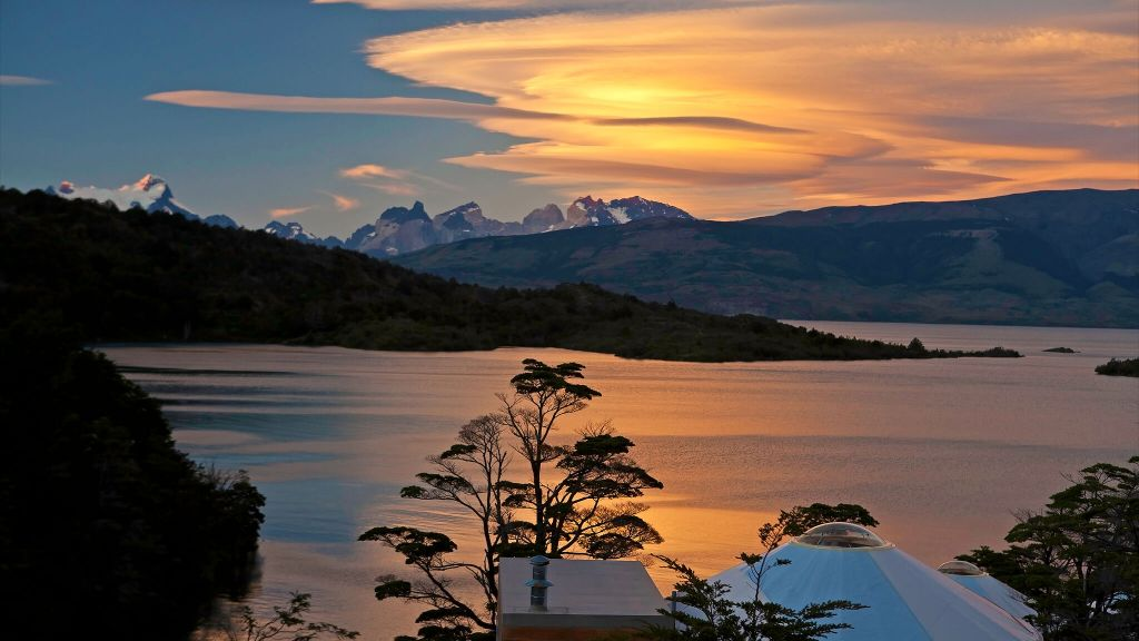 honeymoon destination Patagonia luxury hotels