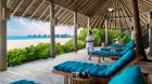 Six Senses Laamu beachfront service