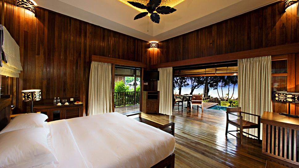 Image result for Bunga Raya Island Resort & Spa, Sabah rooms