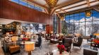 The  Resort at  Squaw  Creek  new lobby winter