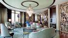 luxurious suite at The Ritz Carlton Shanghai
