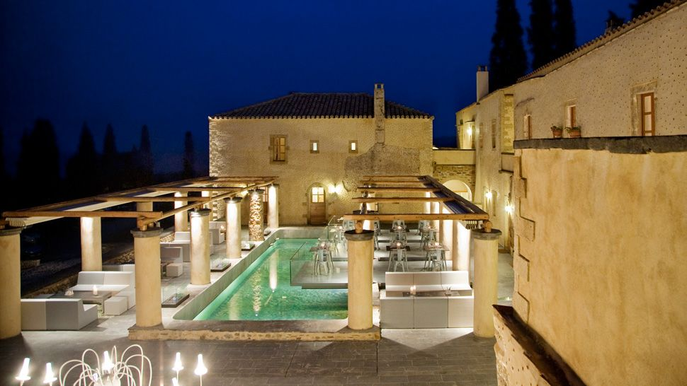 Kinsterna Hotel - Monemvasia, Greece
