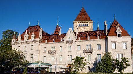 Château d'Ouchy - Lausanne, Switzerland