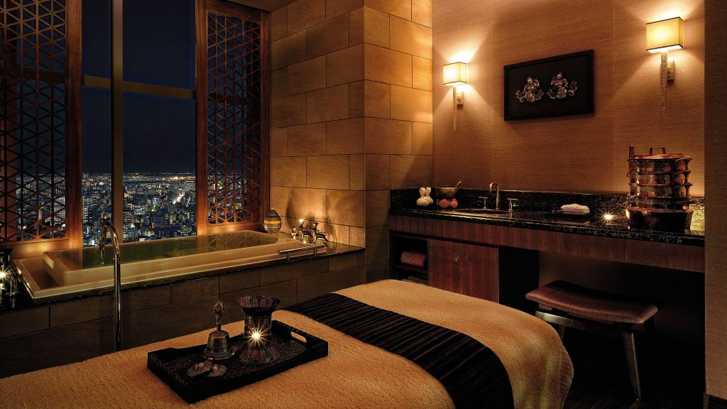 See More Information About Shangri La Hotel Tokyo Chi Treatment Room
