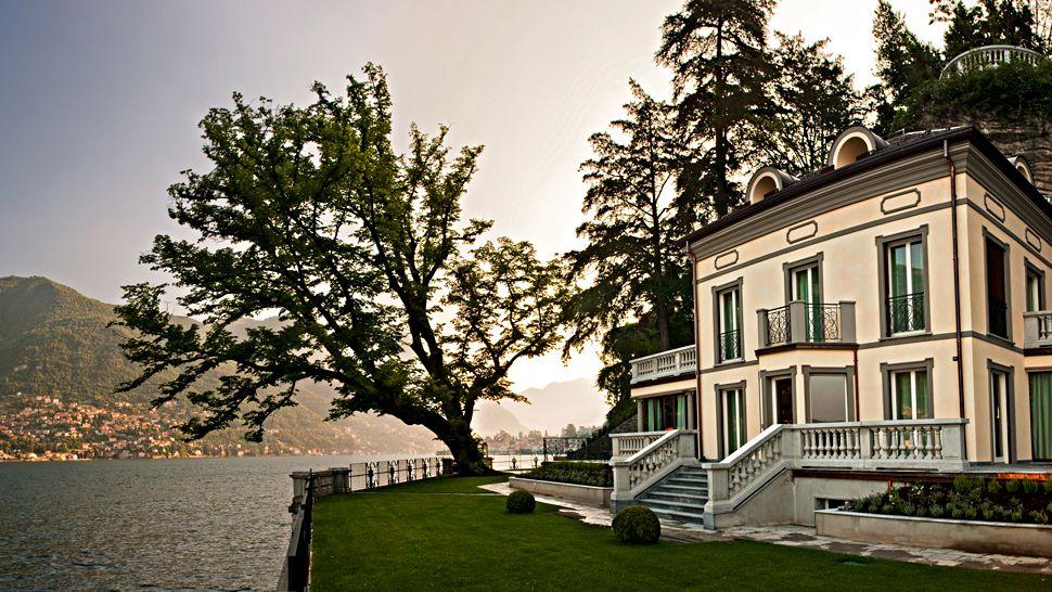 Castadiva resort spa lake como lombardy - Casta diva lake como italy ...