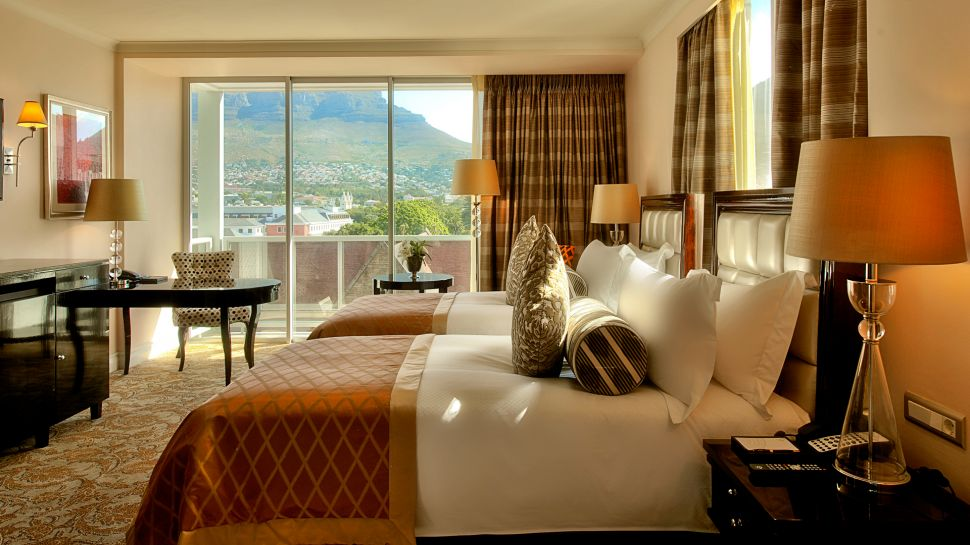 Bedroom At Taj Cape Town. Mountain Facing Twin. Living Room Suite Part 71