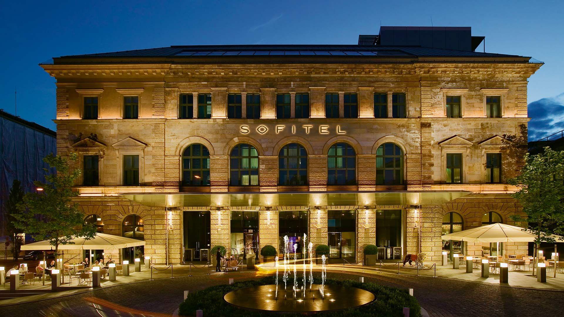 Sofitel Munich Bayerpost. Visa Luxury Hotel Collection