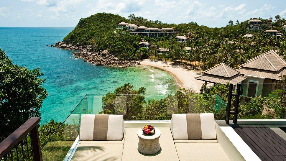 Beach View From Villa Deck