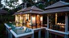 Villa spa infinity plunge pool