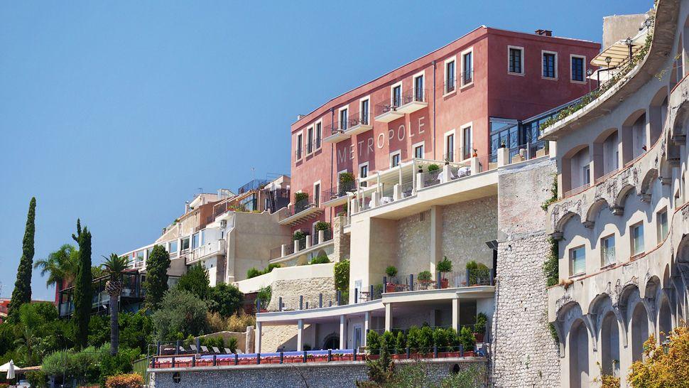 Metropole taormina messina sicily for Design hotel sicily