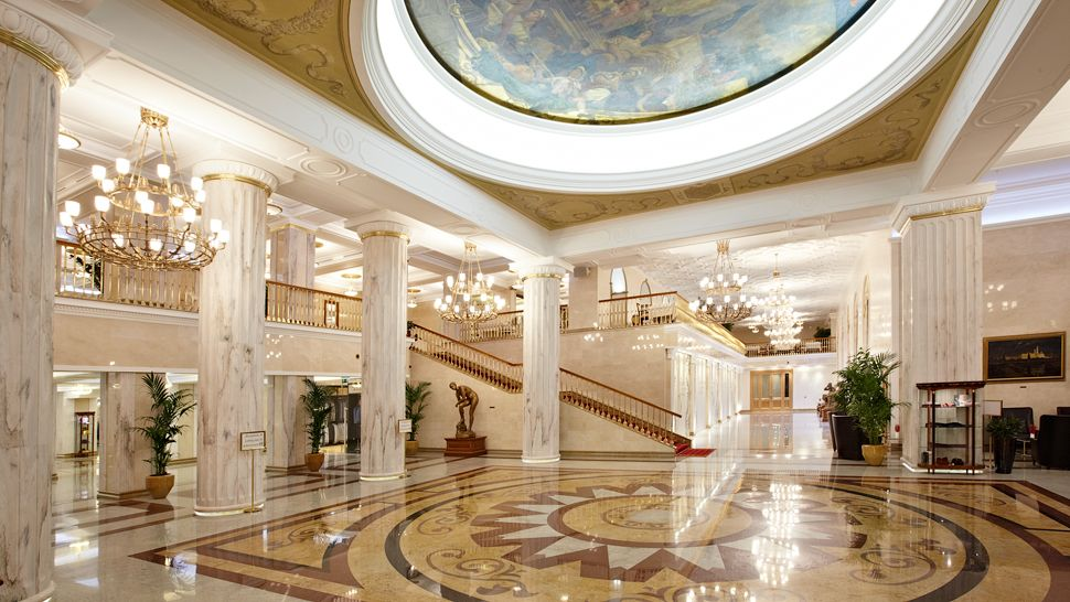 Radisson royal hotel moscow moscow russia for Design hotel mosca