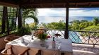 dining table on verandah