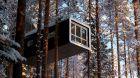 Winter wonderland cabin
