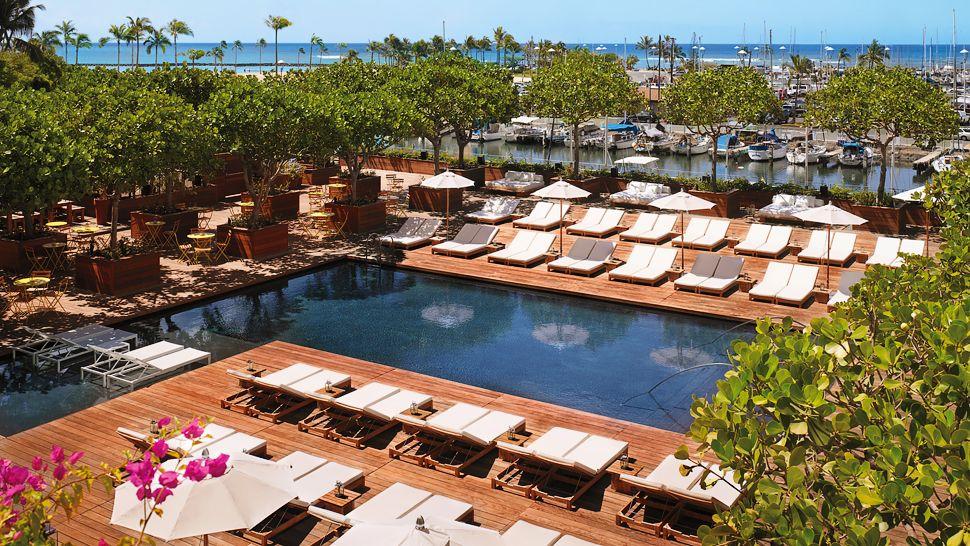 The modern honolulu oahu hawaii for Pool design honolulu