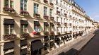 hotel facade in the sunshine