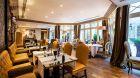 beautiful restaurant seating at Castille Paris
