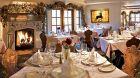 dining room at Goldener Hirsch