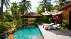 Dining pavilion in Pool Villa