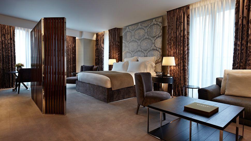 Bulgari hotel london england united kingdom for Design hotel londra