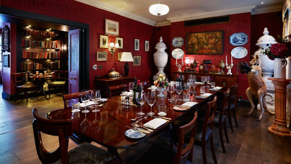 The zetter townhouse england united kingdom for Dining room zetter townhouse