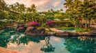 Tropical gardens at Grand Hyatt Kauai