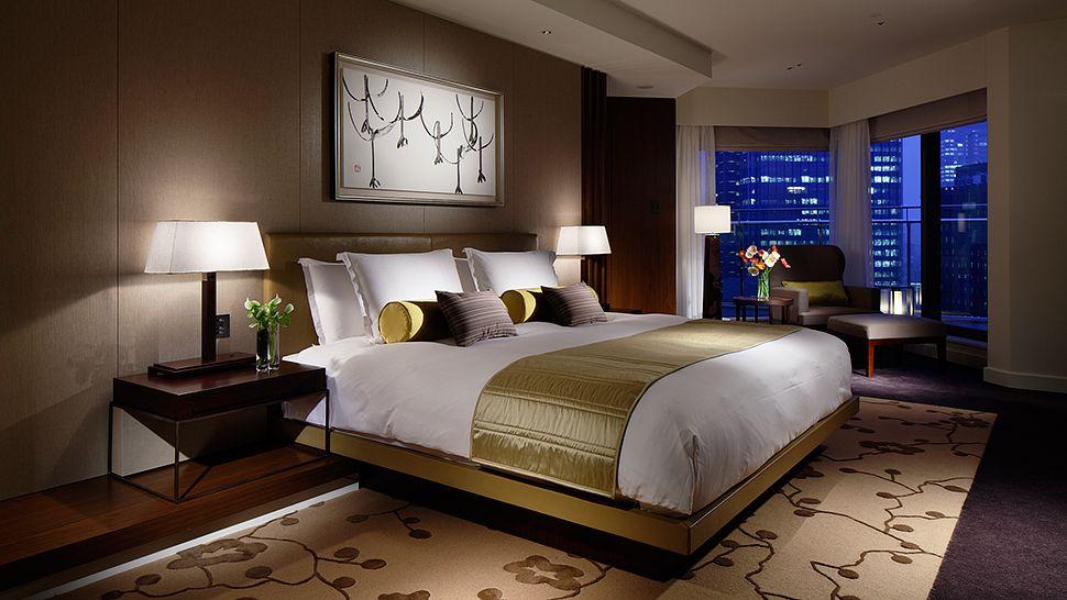 Palace Hotel Tokyo Terrace Suite Bedroom