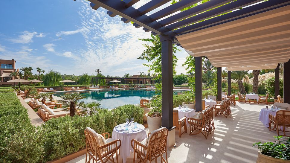 Mandarin oriental marrakech marrakech tensift el haouz for Pool garden marina mandarin