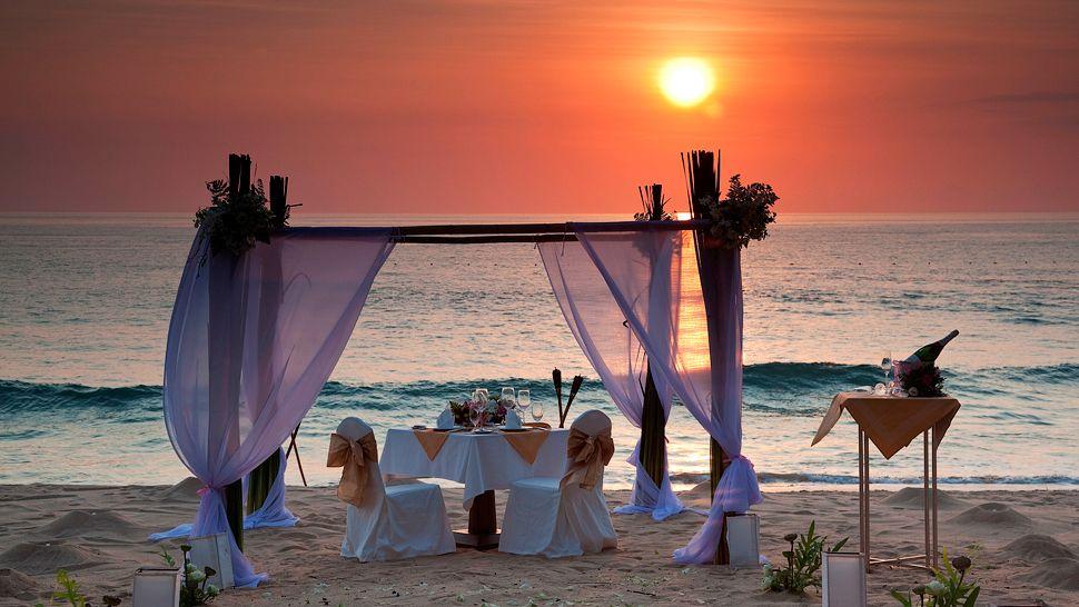 Pin wedding at sunset beach on pinterest