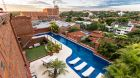 aerial view of La Mision Hotel Boutique